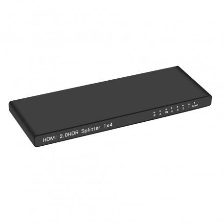 Ultra Slim HDMI 2.0 1X 4 Splitter