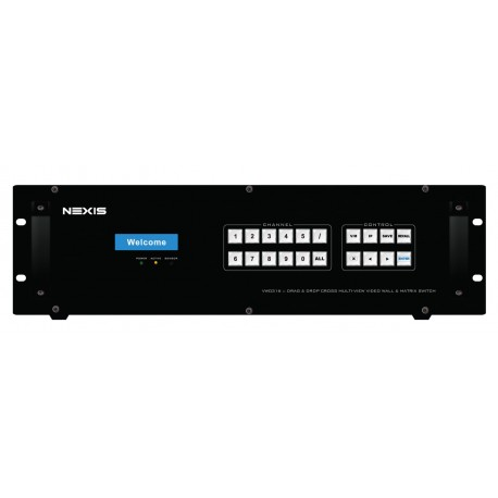 16 IN 16 OUT DRAG & DROP CROSS MULTI-VIEW VIDEO WALL & MATRIX SWITCH